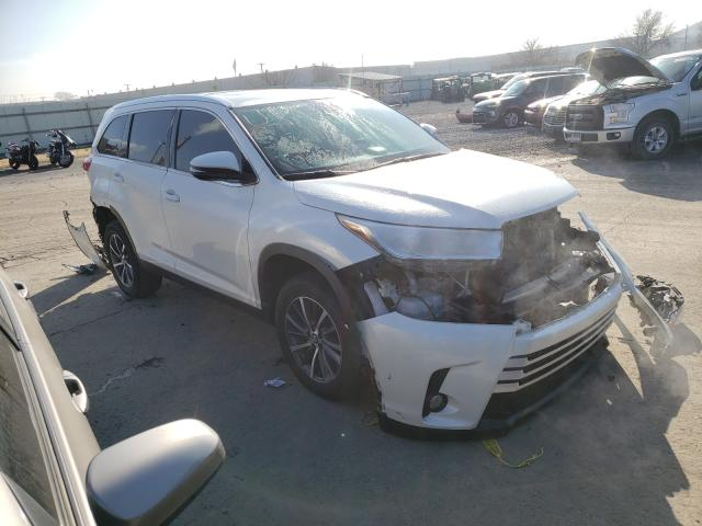 Salvage cars for sale from Copart Tulsa, OK: 2019 Toyota Highlander
