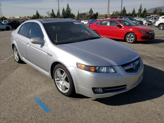 Salvage cars for sale from Copart Rancho Cucamonga, CA: 2008 Acura TL