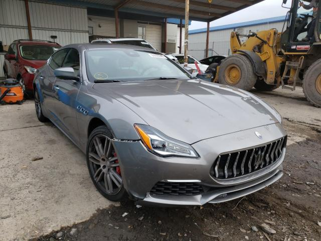 Maserati Quattropor salvage cars for sale: 2018 Maserati Quattropor