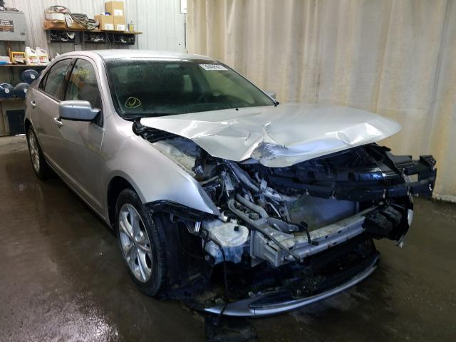 Salvage cars for sale from Copart Avon, MN: 2012 Ford Fusion SE