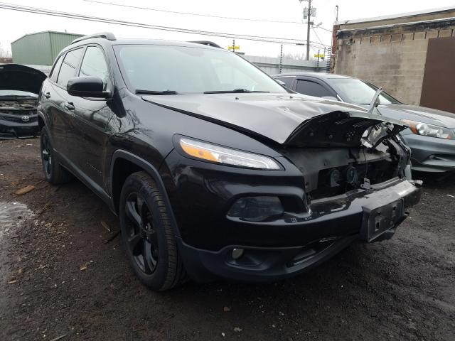 2015 JEEP CHEROKEE L - Left Front View Lot 30073371.