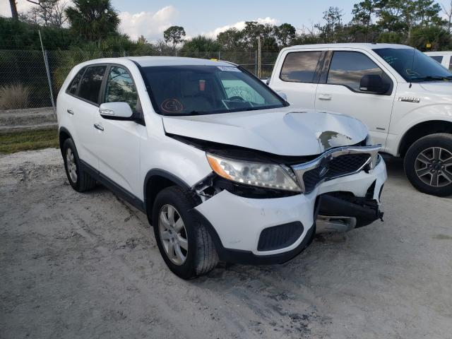 Salvage cars for sale from Copart Fort Pierce, FL: 2011 KIA Sorento BA