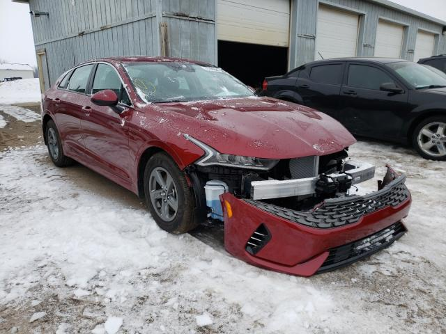 Salvage cars for sale from Copart Portland, MI: 2021 KIA K5 LXS