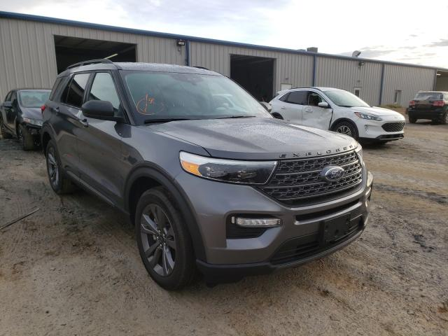 Salvage cars for sale from Copart Mocksville, NC: 2021 Ford Explorer
