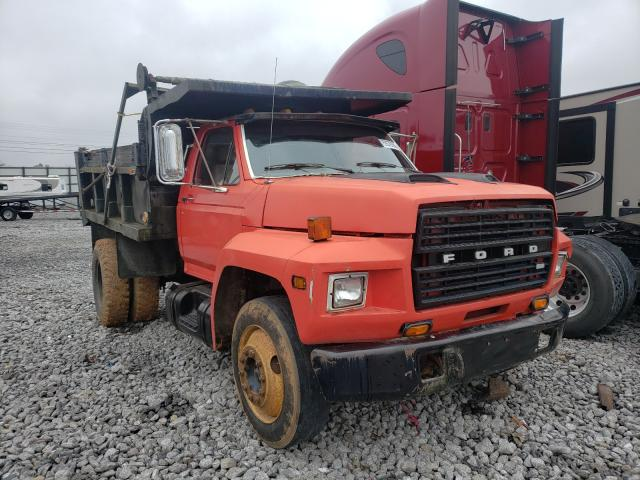 Ford F700 salvage cars for sale: 1983 Ford F700