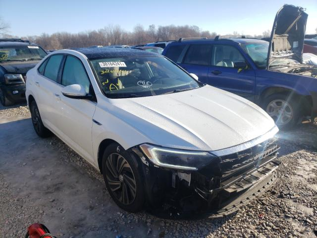Volkswagen salvage cars for sale: 2019 Volkswagen Jetta SEL