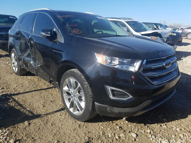 Salvage cars for sale from Copart Kansas City, KS: 2018 Ford Edge