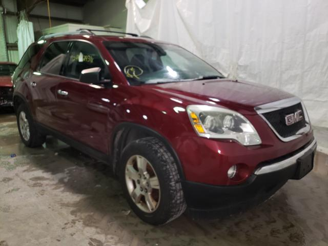 Salvage cars for sale from Copart Leroy, NY: 2011 GMC Acadia SLE
