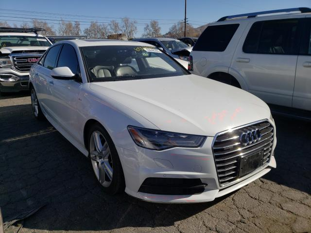 Salvage cars for sale from Copart Colton, CA: 2017 Audi A6 Premium