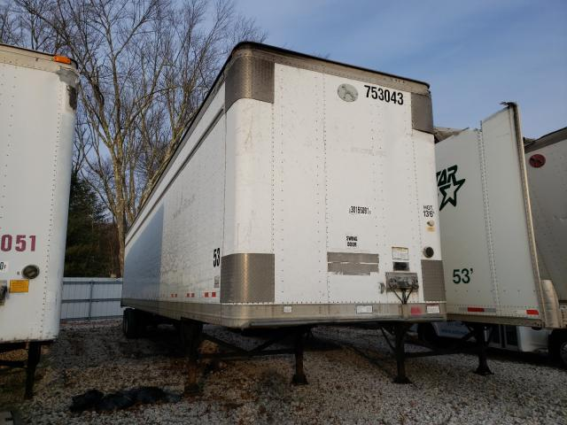 Great Dane salvage cars for sale: 2006 Great Dane 53 Trailer