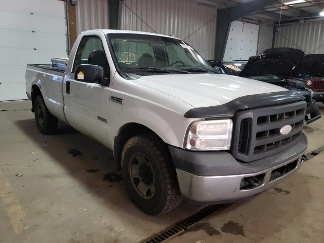 Salvage cars for sale from Copart West Mifflin, PA: 2006 Ford F250 Super