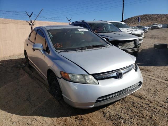 Salvage cars for sale from Copart Albuquerque, NM: 2008 Honda Civic EX