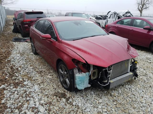 Salvage cars for sale from Copart Cicero, IN: 2017 Ford Fusion Sport