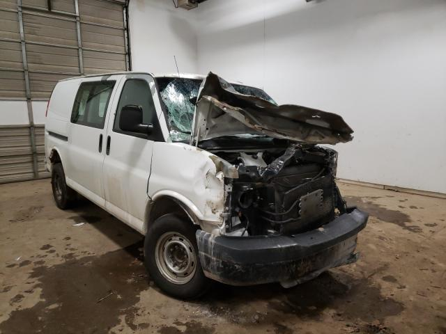 Salvage cars for sale from Copart Davison, MI: 2009 Chevrolet Express G2