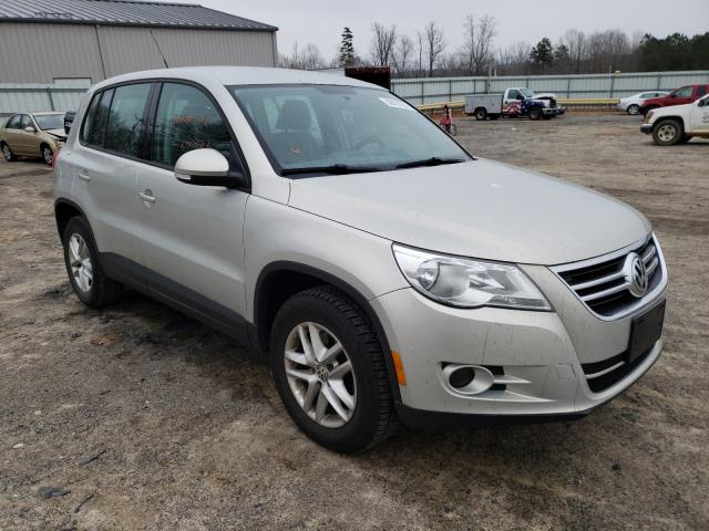 Salvage cars for sale from Copart Chatham, VA: 2011 Volkswagen Tiguan S