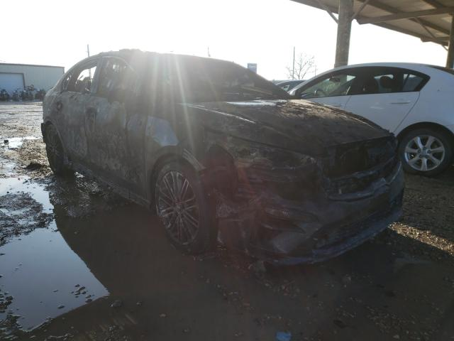 Salvage cars for sale from Copart Temple, TX: 2020 KIA Forte GT