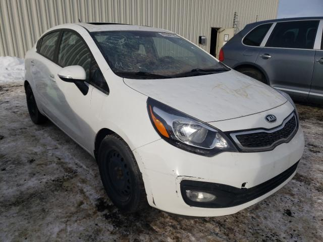 KIA Rio EX salvage cars for sale: 2015 KIA Rio EX