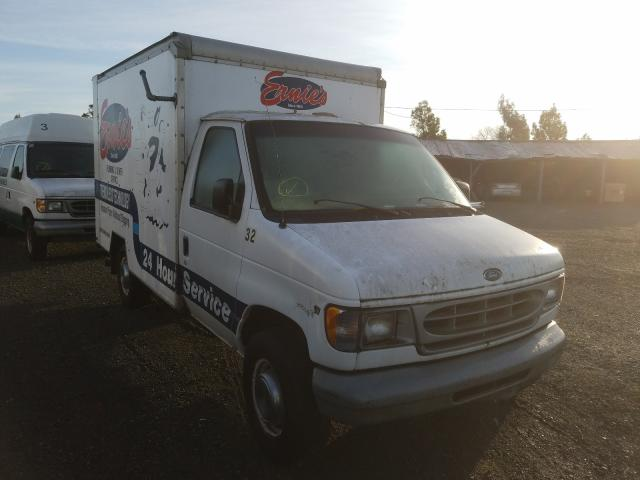 Salvage cars for sale from Copart Vallejo, CA: 2002 Ford Econoline
