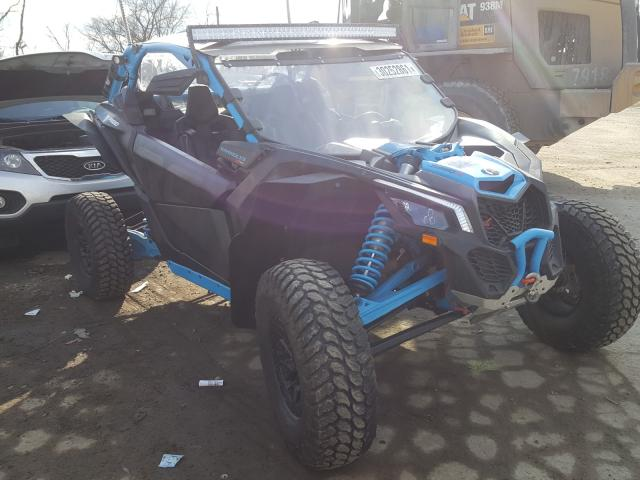 Salvage cars for sale from Copart West Mifflin, PA: 2018 Can-Am Maverick X