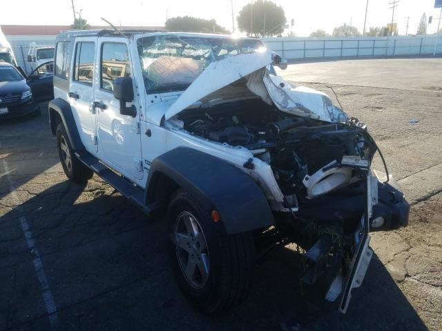 Salvage cars for sale from Copart Van Nuys, CA: 2013 Jeep Wrangler U