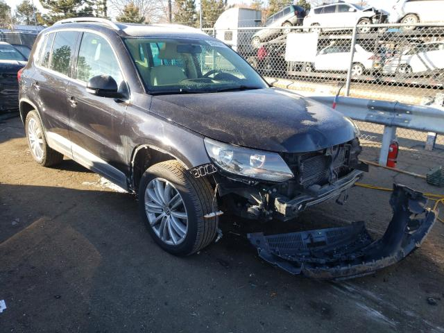 Salvage cars for sale from Copart Brighton, CO: 2015 Volkswagen Tiguan S