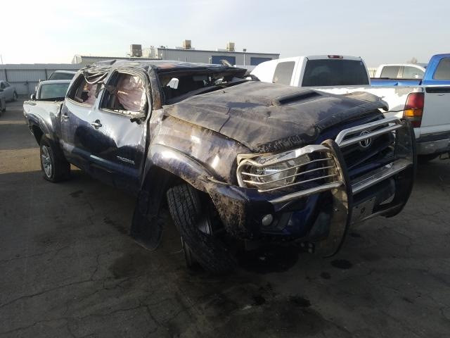 Salvage cars for sale from Copart Bakersfield, CA: 2013 Toyota Tacoma DOU
