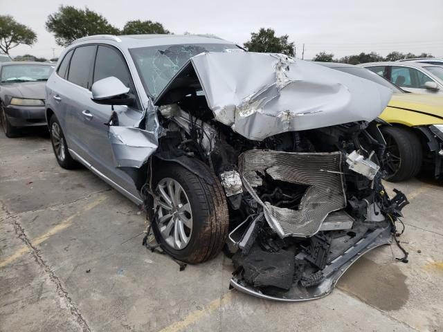 Salvage cars for sale from Copart Orlando, FL: 2015 Audi Q5
