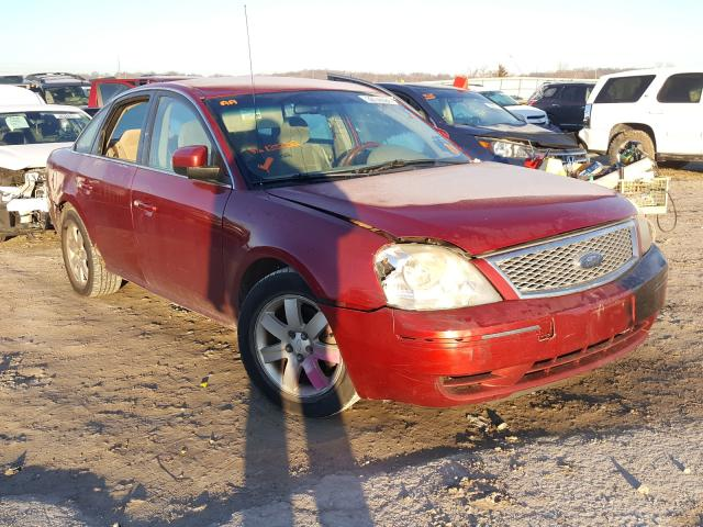 Salvage cars for sale from Copart Kansas City, KS: 2007 Ford Five Hundr