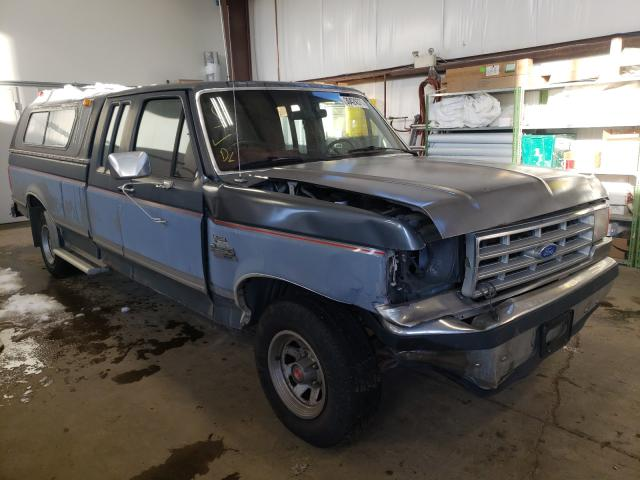 Salvage cars for sale from Copart Nisku, AB: 1989 Ford F150