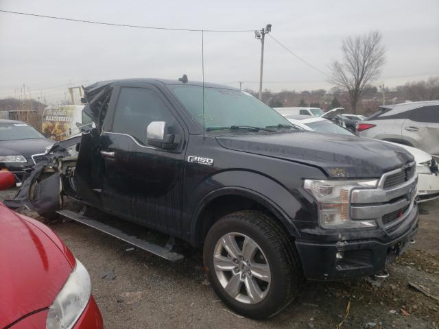 Salvage cars for sale from Copart Baltimore, MD: 2018 Ford F150 Super