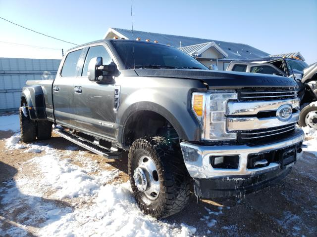 Salvage cars for sale from Copart Andrews, TX: 2017 Ford F350 Super