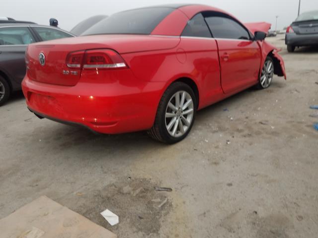цена в сша 2016 Volkswagen Eos Komfor 2  L WVWBW8AHXGV000899