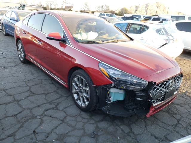 Salvage cars for sale from Copart Colton, CA: 2019 Hyundai Sonata LIM