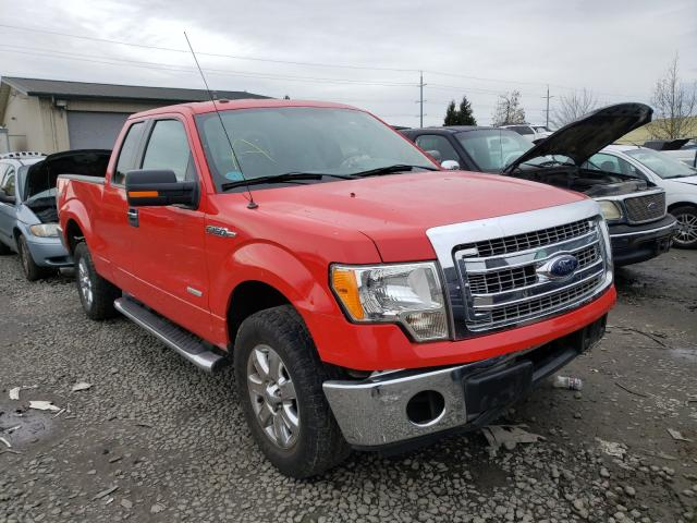 Salvage cars for sale from Copart Eugene, OR: 2013 Ford F150 Super