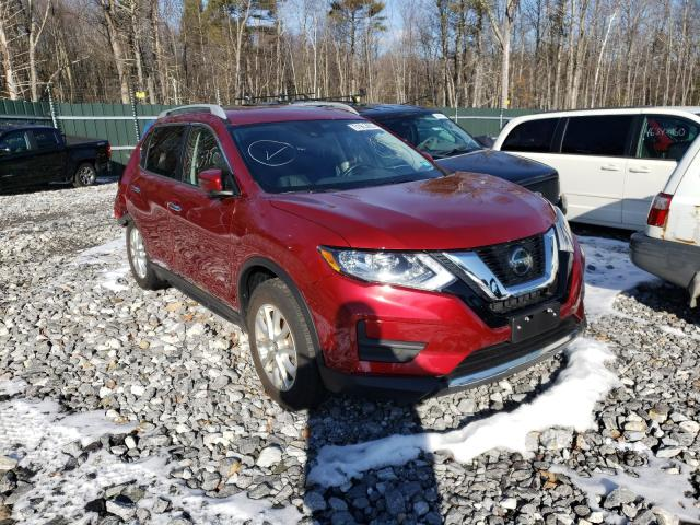 Salvage cars for sale from Copart Candia, NH: 2019 Nissan Rogue S
