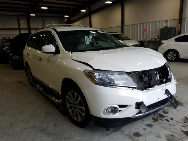 Salvage cars for sale from Copart Byron, GA: 2013 Nissan Pathfinder