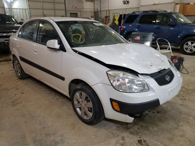 Salvage cars for sale from Copart Columbia, MO: 2009 KIA Rio Base