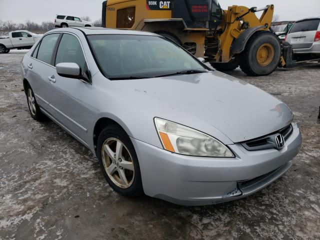 Salvage cars for sale from Copart Lansing, MI: 2003 Honda Accord EX
