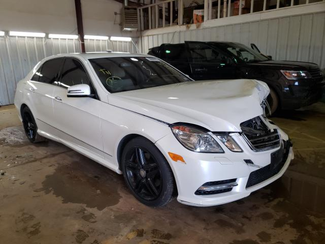 Mercedes-Benz salvage cars for sale: 2013 Mercedes-Benz E 350