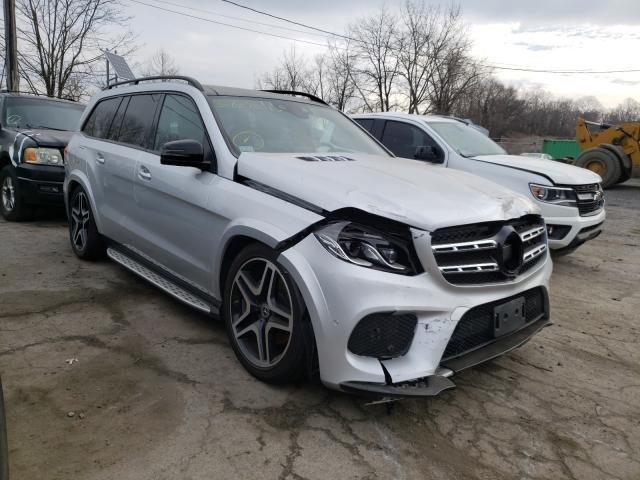 Mercedes-Benz GLS 550 4M salvage cars for sale: 2019 Mercedes-Benz GLS 550 4M