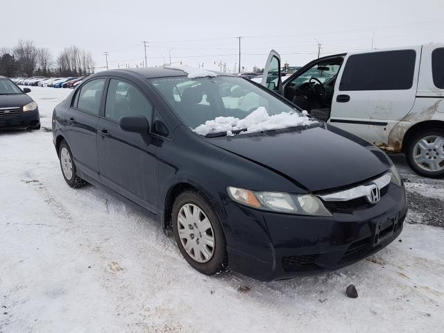 Honda Civic DX salvage cars for sale: 2009 Honda Civic DX