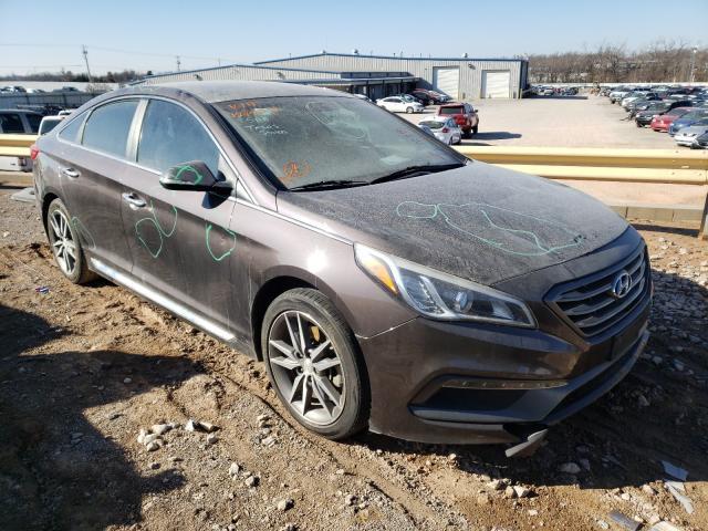 Salvage cars for sale from Copart Oklahoma City, OK: 2015 Hyundai Sonata Sport