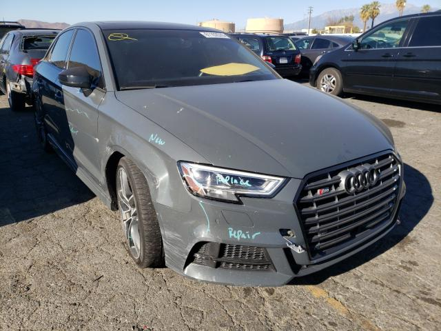 Salvage cars for sale from Copart Colton, CA: 2017 Audi S3 Premium
