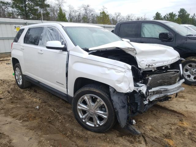 Salvage cars for sale from Copart Gaston, SC: 2017 GMC Terrain SL