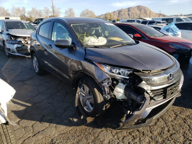 Salvage cars for sale from Copart Colton, CA: 2019 Honda HR-V EX