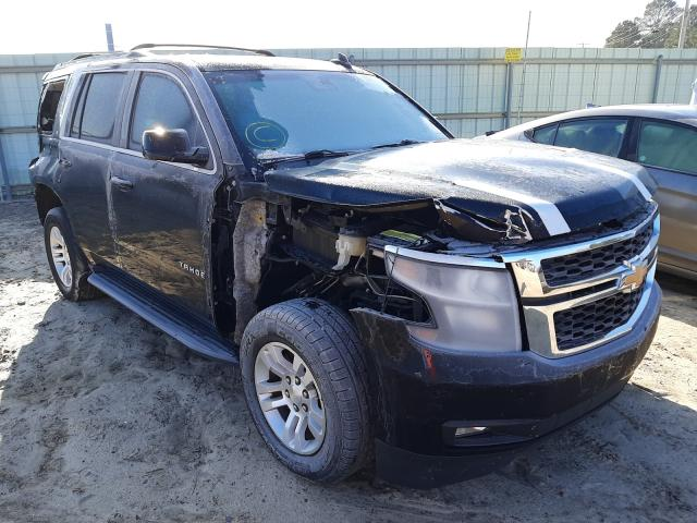 Salvage cars for sale from Copart Conway, AR: 2016 Chevrolet Tahoe K150