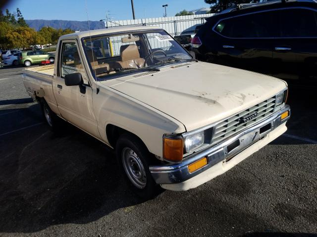 Salvage cars for sale from Copart Rancho Cucamonga, CA: 1987 Toyota Pickup 1/2