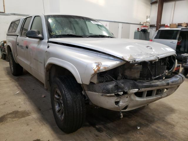 Salvage cars for sale from Copart Nisku, AB: 2002 Dodge Dakota Quattro