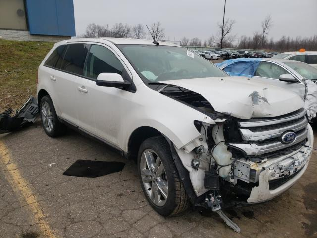 Salvage cars for sale from Copart Woodhaven, MI: 2014 Ford Edge SEL