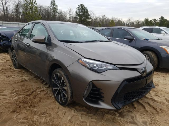 Salvage cars for sale from Copart Gaston, SC: 2018 Toyota Corolla L